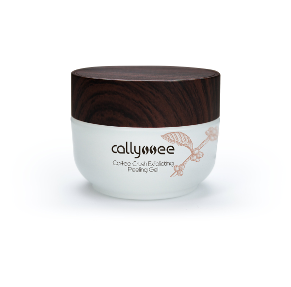 Callyssee Coffee Crush Exfoliating Peeling Gel